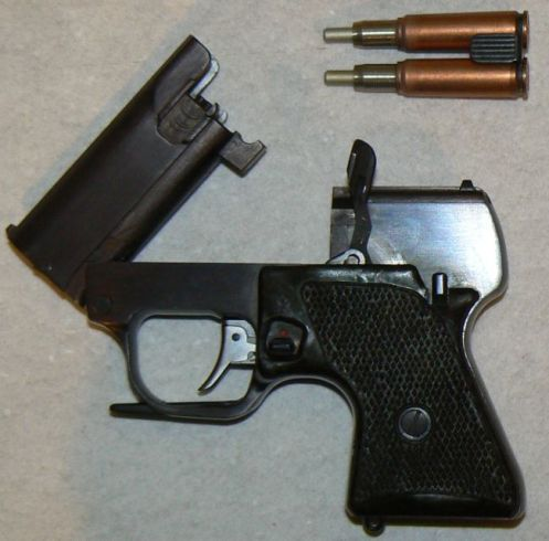 MSP Groza pistol with ammo